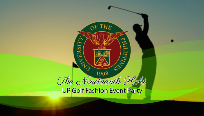 The Nineteenth Hole: UP Golf Fashion Event Party