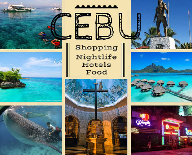 Cebu Shopping Nightlife Hotels Food