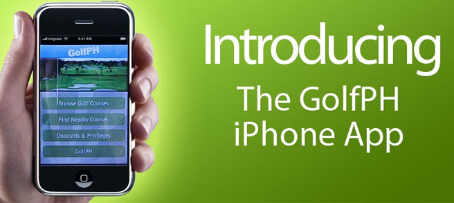 GolfPH IPhone Application