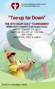 Tee Up For Down