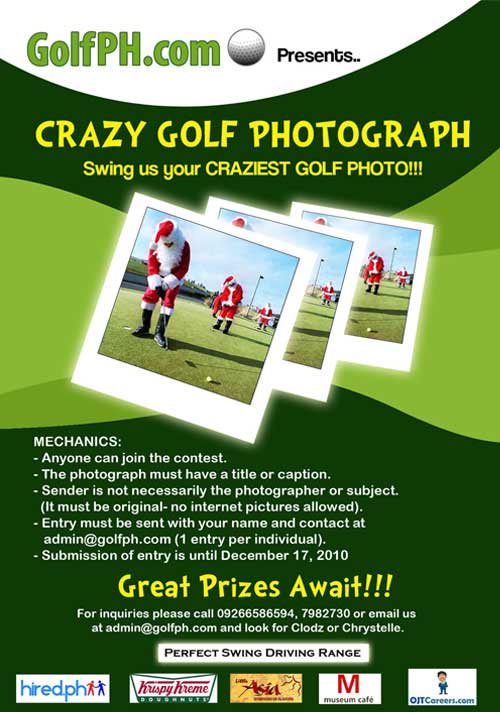 GolfPH Crazy Photograph Contest