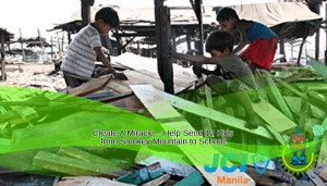Create A Miracle – Help Send 12 Kids from Smokey Mountain to School!