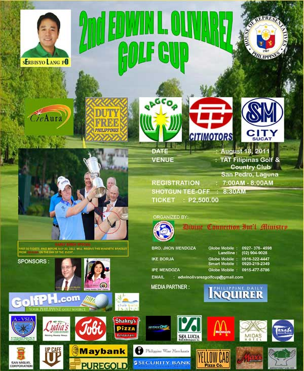 Edwin Olivarez Golf Tournament