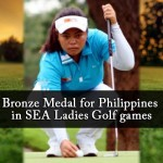 Bronze Medal for Philippines in SEA Ladies Golf games