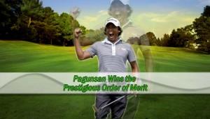 Pagunsan Wins the Prestigious Order of Merit