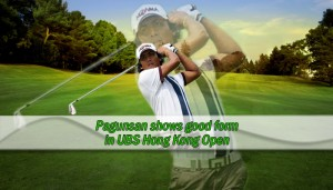 Pagunsan shows good form in UBS Hong Kong Open