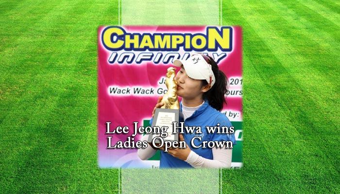 Lee Jeong Hwa wins Ladies Open Crown