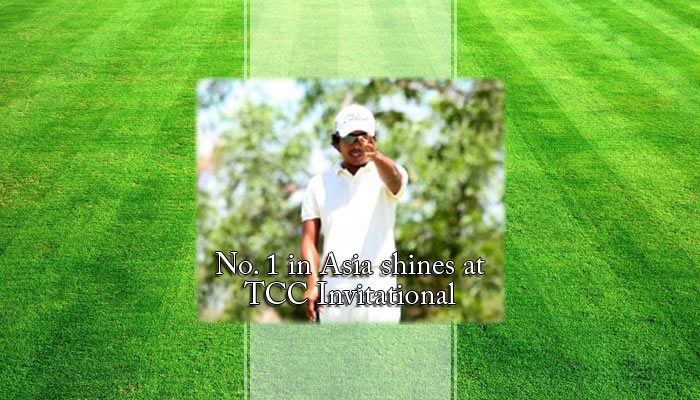 No. 1 in Asia shines at TCC Invitational