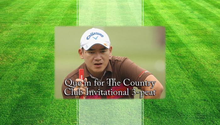 Que in for The Country Club Invitational 3-peat