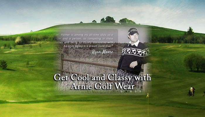 Get Cool and Classy with Arnie Golf Wear