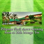 Pilipinas Shell shows winning form at 28th Mango Tee