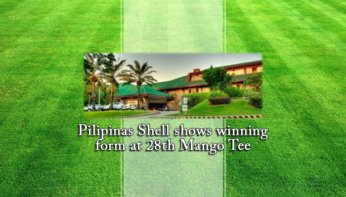 Pilipinas Shell shows winning form at 28th Mango Tee