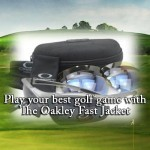 Play your best golf game with The Oakley Fast Jacket