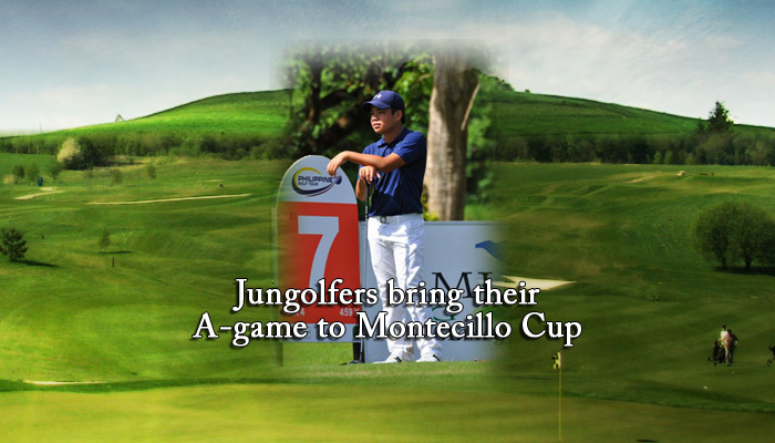 Jungolfers bring their A-game to Montecillo Cup