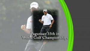 Pagunsan 35th in World Golf Championships