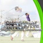 Miñoza Gives Special Appearance in the ICTSI Jungolf Interclub Tournament