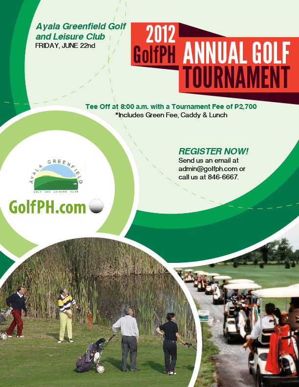 Partee in the Greens: GolfPH Annual Golf Tournament 2012