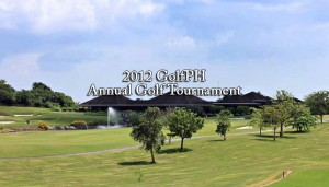 2012 GolfPH Annual Golf Tournament Breathtaking view of the Ayala Greenfields golf course and clubhouse.
