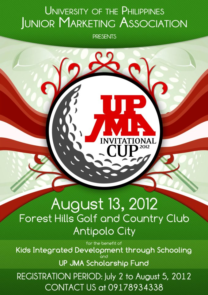 2012 UP JMA Invitational Cup at the Forest Hills Golf and Country Club