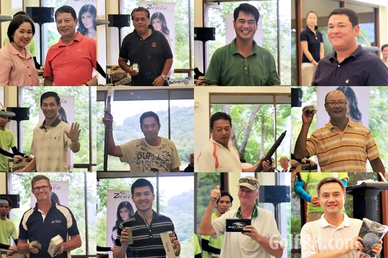 GolfPH Winners and prizes