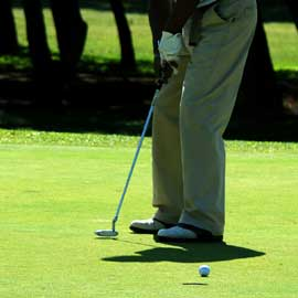 How to play golf the right way