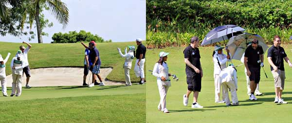 A List of Golf Tournaments for November 2012