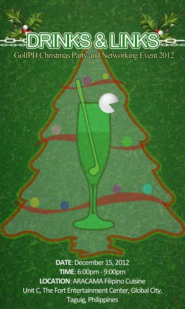 DRINKS & LINKS: GolfPH Christmas Party and Networking Event