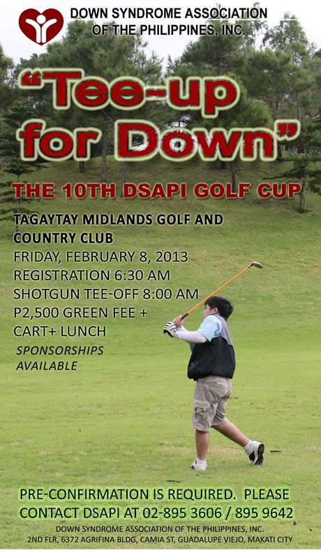 Tee Up For Down Once More