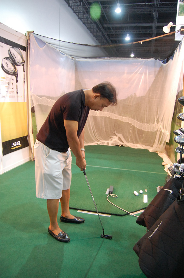 GolfPH Lifestyle Exhibition 2013