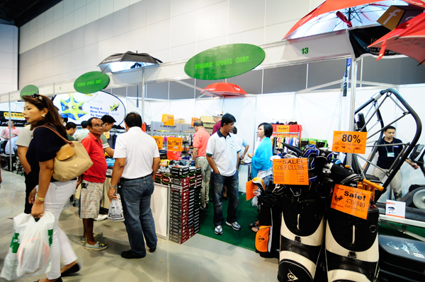 18th Philippine Golf & Lifestyle Exhibition 2013
