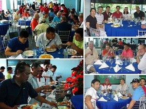 GolfPH Tournament 2013 Lunch