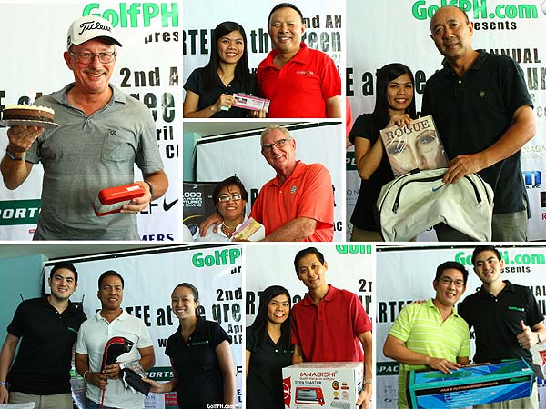 GolfPH Tournament 2013 Raffle