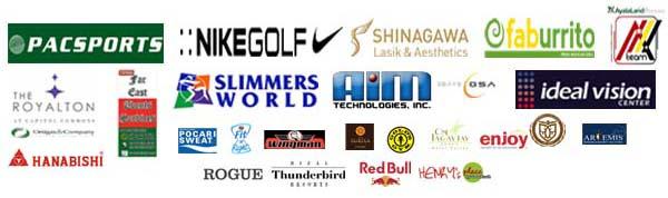 GolfPH Tournament 2013 Sponsors