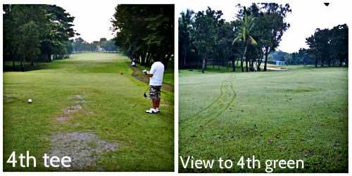 Navy Golf Club - 4th tee & green
