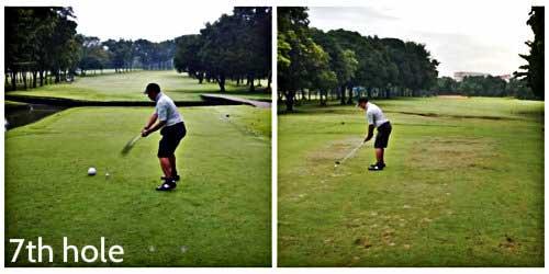 Navy Golf Club - 7th hole