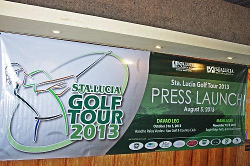 sta lucia golf tour 2013