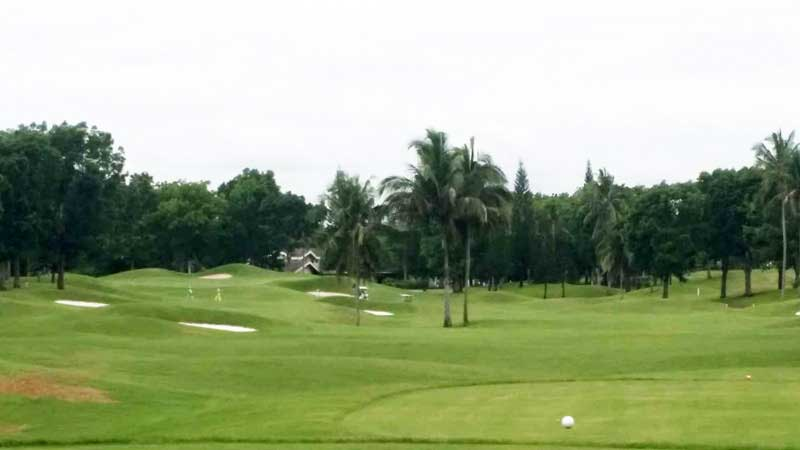 Mt. Malarayat Golf Course luzon  3rd hole