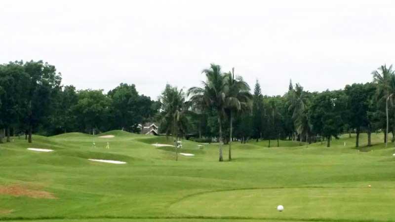Mt. Malarayat Golf Course luzon  3rd hole