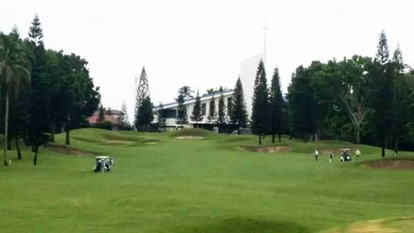 Mt. Malarayat Golf Course 5th hole