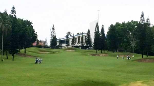 Mt. Malarayat Golf Course 5th hole