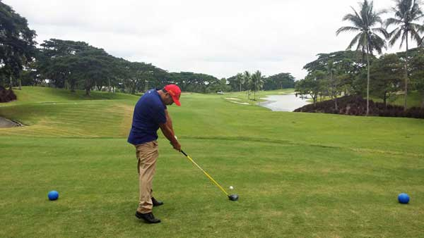 course review for malarayat course 9th hole