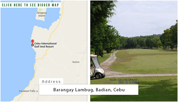Cebu International Location, Map and Address