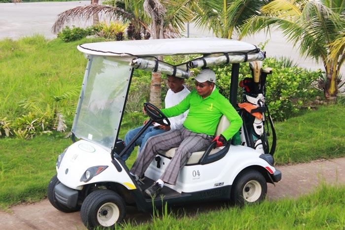 Haciendas de Naga Sports Club, Inc. Golf Cart