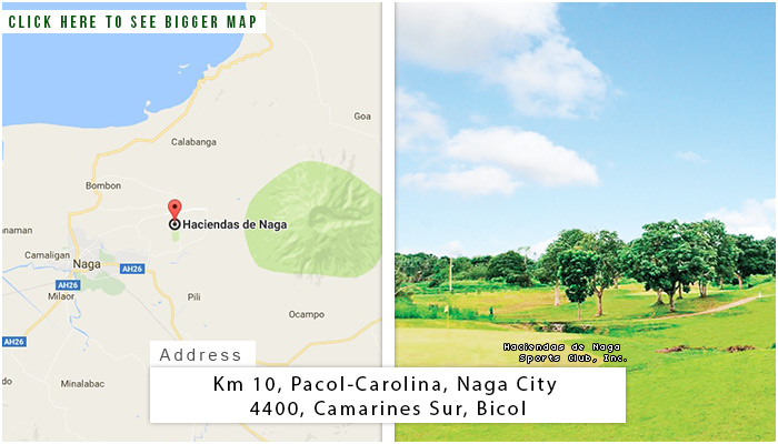 Haciendas de Naga Location, Map and Address