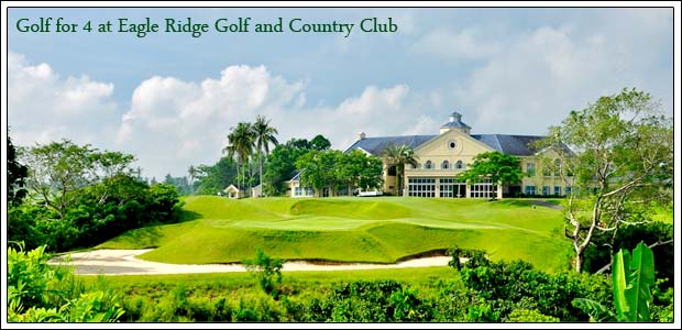 Golf for 4 at Eagle Ridge Golf and Country Club