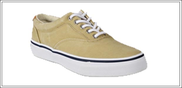 Sperry Salt Washed Twill Sneakers
