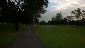Tee Box hole 11 at villamor golf club