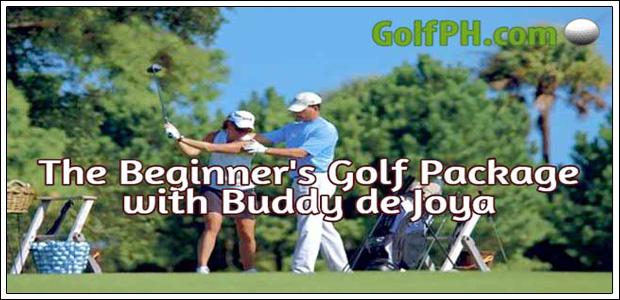 The Beginners Golf Package w/ Buddy De Joya
