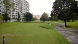 Hole 14 with water at villamor golf club