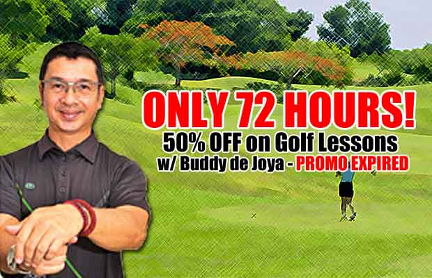 50% Off on Golf Lessons